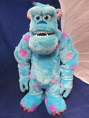 Disney Pixar Spin Master Monsters Inc Sully Animated Talking Toy 15""