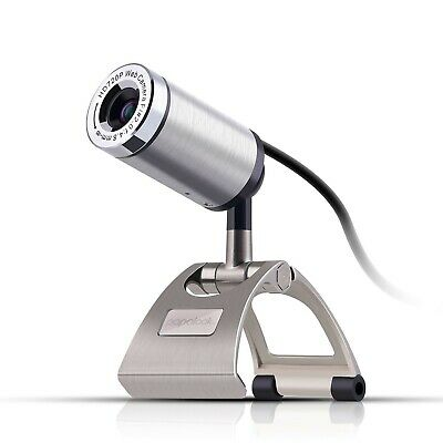 Webcam 720P PAPALOOK PA150 Web Camera High Definition with Built-in Microphon...