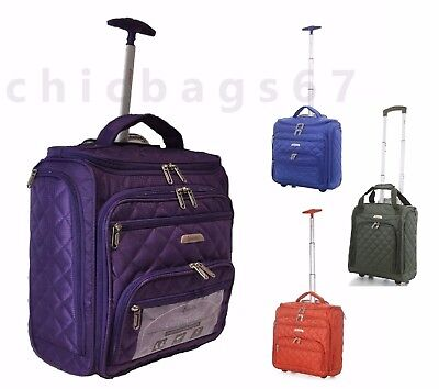 EasyJet Lightweight Wheeled Hand Luggage Trolley Suitcase Cabin Approved Bag
