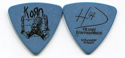 KORN 2017 Suffering Tour Guitar Pick!!! BRIAN HEAD WELCH custom concert stage