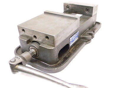 "Used Kurt D60 Anglock 6"" Machinist Milling Machine Vise USA D60-039921"