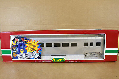 LGB 30590 G SCALE SANTA FE AT&SF UNION PACIFIC OBSERVATION COACH MINT BOXED nk
