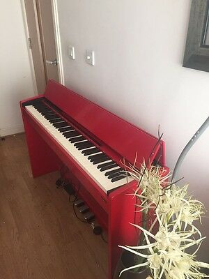 Roland F-120R digital piano In red barely used