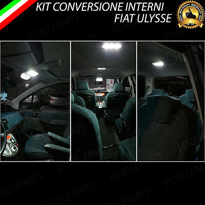 KIT FULL LED INTERNI FIAT TIPO SW CONVERSIONE COMPLETA 6000K NO ERROR CANBUS
