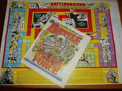 BATTLE with STORM FORCE Comic - Date 24/01/1987 - UK Paper Comic (Inc FREE GAME)