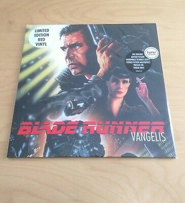 Blade Runner OST Vangelis limited HMV Red Vinyl New & Sealed! UK
