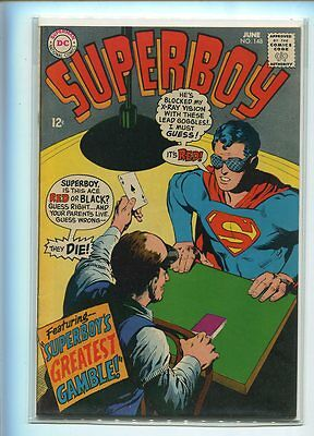 Superboy #148 Hi Grade Dramatic Cover Gem
