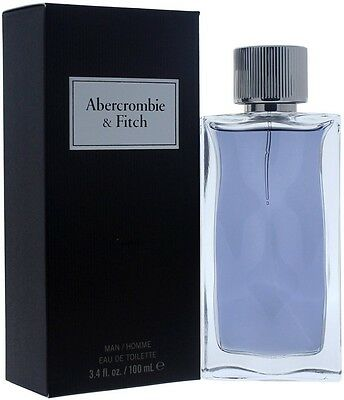 First Instinct By Abercrombie - Fitch Men Eau De Toilette 3.4 oz (Pack of 2)