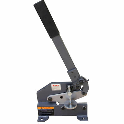 KAKAIND 6-In Manual Hand Plate Shear, Solid and Precise Sheet Metal Plate Shear