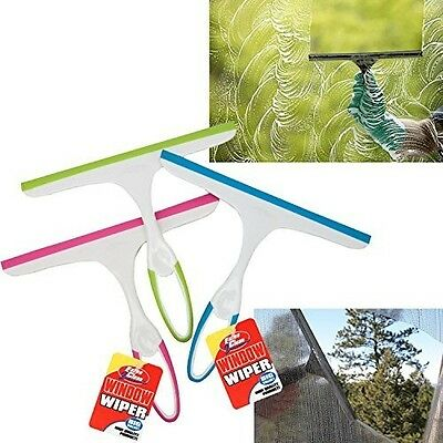 Glass Window Soap Cleaner Wiper Squeegee Home Car Blade Bathroom Mirror Shower