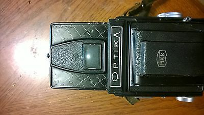 Optika IIA Camera and Film cartridge very good condition