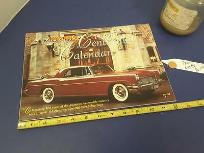 OLD CARS Krause publi 1996 complete CAR calendar FREE SHIP + FREE lucky PENNY !!