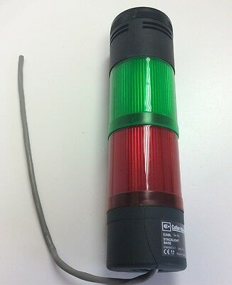 Eaton Cutler-Hammer E26BQV2 E26BL Stack Light Tower Red Green *For Parts*