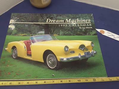 DREAM MACHINES  1992 Complete  calendar FREE SHIP + FREE lucky PENNY !!
