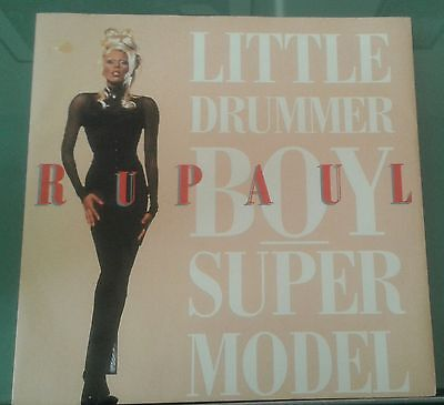 "RUPAUL LITTLE DRUMMER BOY/SUPERMODEL 12""vinyl record very good condition"