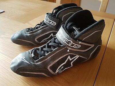 Alpinestars tech 1-t race boots black / anthracite size 5
