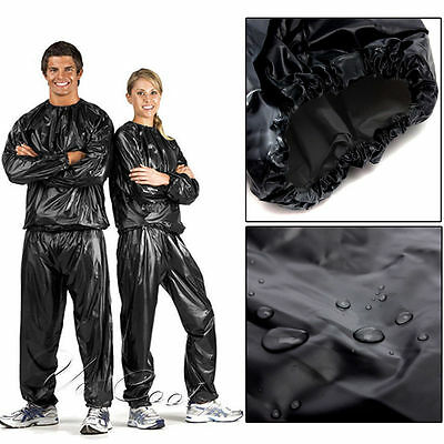 boxing sweat suit weight loss sauna Exercise Fitness Anti-Rip jogging walking