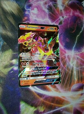 Turtonator GX 18/145 Pokemon Guardians Rising Card Set Ultra Rare NM-M