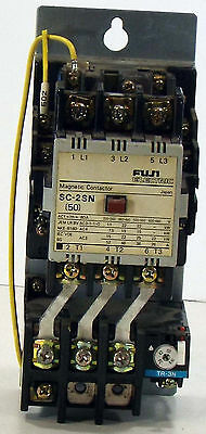 1 Used Fuji Sc-2Sn Magnetic Contactor Tr-3N Thermal Overload Relay *make Offer*