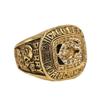 Chicago Bears 1985 Super Bowl Champions William Fridge Perry Ring Refrigerator