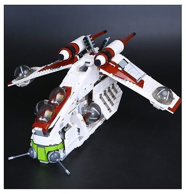 STAR WARS REPUBLIC GUNSHIP-  Lego Compatibile 75021 - Nuovo