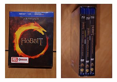 "coffret 3 dvd Blu-Ray""le HOBBIT"""