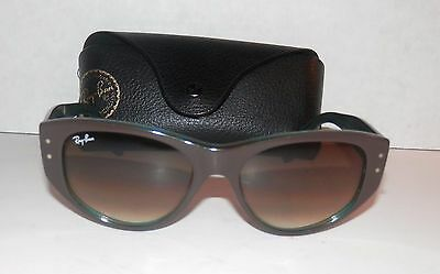 pre owned Ray Ban VAGABOND 4152 Iridescent Sunglasses with case