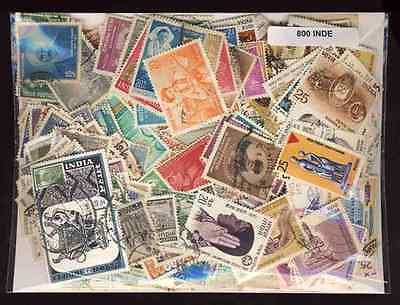 Inde - India 800 timbres différents