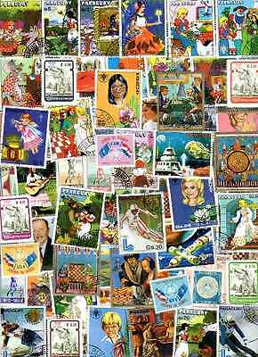 Paraguay 1000 timbres différents