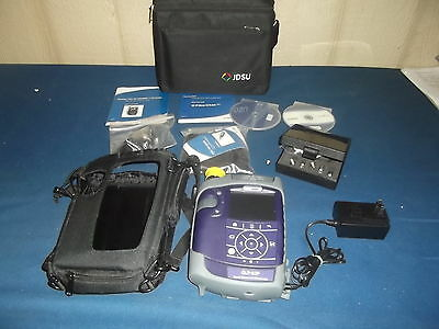 Jdsu Olp-82P Power Meter & Microscope With Case Of Tips/probes