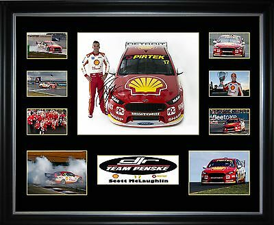 Scott McLaughlin Limited Edition Framed Memorabilia