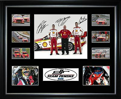 DJR Team Penske Limited Edition Framed Memorabilia