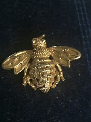 Avon Vintage Bee Brooch Pin Gold Tone Small Fashion Jewelry