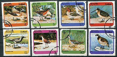 Staffa 1978 Water Birds Set Of 8 Stamps Complete!