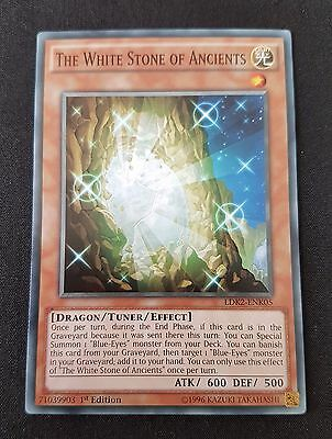 Yugioh - The White Stone Of Ancients (LDK2-ENK05) (Common) (1st Ed) (M/NM)