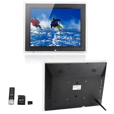 "New 15"" inch HD-LCD Digital Photo Frame With Remote Control + 2GB TF Card"
