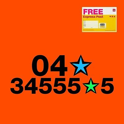 Gold mobile phone number PREMIUM 04x34555z5 with trio SIM card Telstra nano
