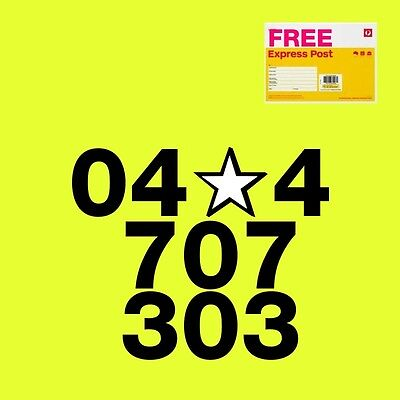 Gold mobile phone number PREMIUM 04x4707303 with trio SIM card Telstra nano
