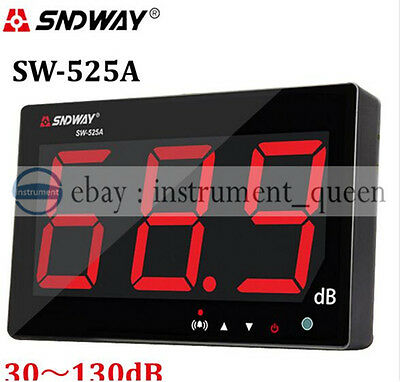 SNDWAY SW-525A Digital Sound level meter 30~130db large screen display