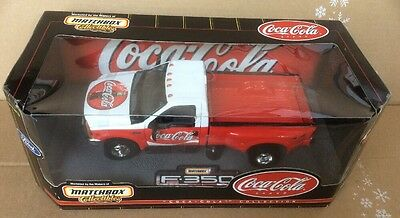 MATCHBOX COLLECTIBLES 1999 Ford F-350 Super Duty Coca-Cola Die Cast 1:24 scale