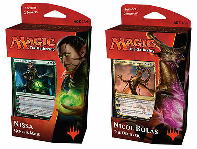 MTG Hour of Devastation Planeswalker Decks Complete Set of 2 - Manaleak PREORDER