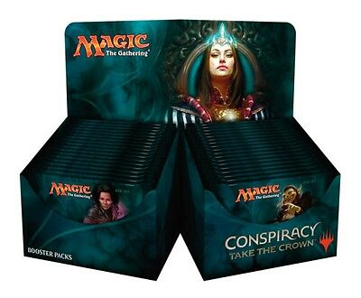 MTG Conspiracy: Take the Crown Sealed Booster Box from Manaleak Birmingham!