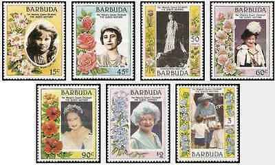 Timbres Famille royale Barbuda 734/40 ** lot 20953