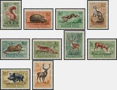 Timbres Animaux Hongrie PA136/45 ** lot 3194