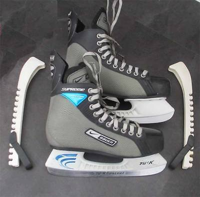 Bauer / Nike Supreme Ice Hockey Skates Uk Size 6 (Eu39) Vgc