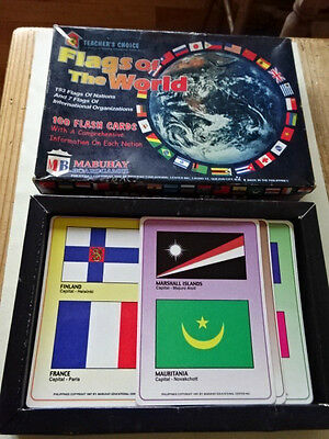 Vintage Game - Teachers Choice - Flags Of The World - Mabuhay Games