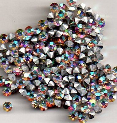 50 Strass Rond Pp23 - 2.90 Mm - Aurore Boreal