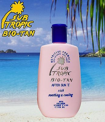 After Sun Tan Extender Tanning Lotion Aloe Vera & Vitamin E Soothing Sun Lotion