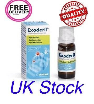 EXODERIL liquid solution - 10ml against nail fungus
