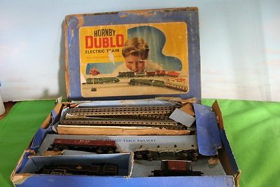 Hornby Dublo Goods Train Set Edg18 Boxed 3 Rail